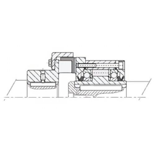 Обгонная муфта AL 120 KMSD2 Stieber