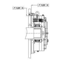 Обгонная муфта RDBK 210-63 Stieber