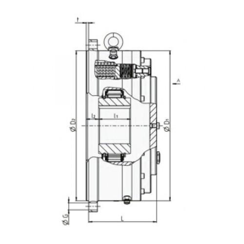 Обгонная муфта RDBK 180-63 H Stieber
