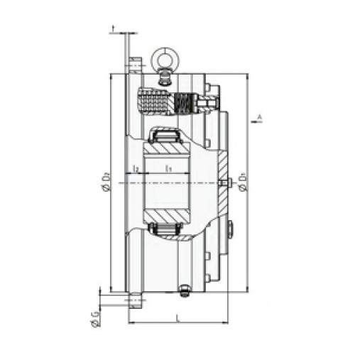 Обгонная муфта RDBK 240-83 H Stieber