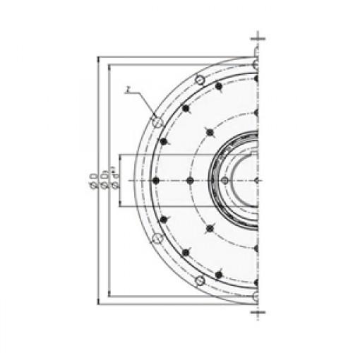 Обгонная муфта RDBK 125-63 H Stieber