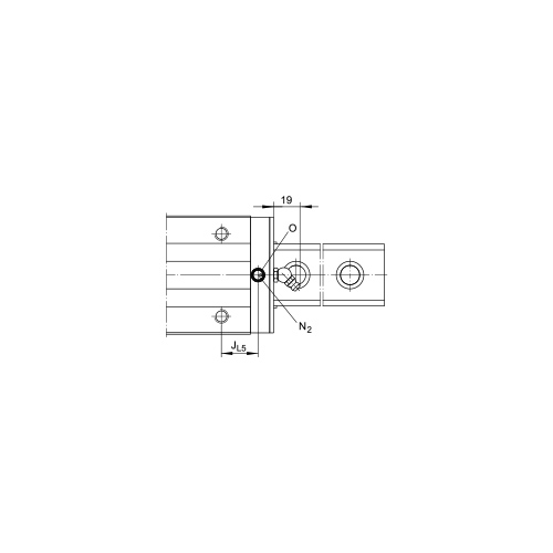 Линейная шариковая каретка <span> KUSE20-HL </span> INA
