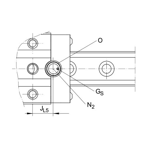 Линейная роликовая каретка <span> RWU25-E-HL </span> INA