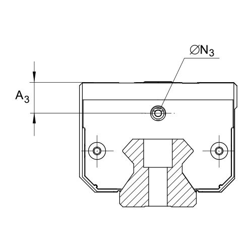 Линейная роликовая каретка <span> RUE35-E-HL </span> INA