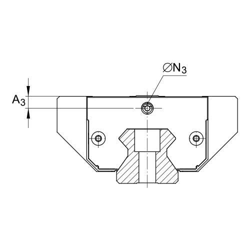 Линейная роликовая каретка <span> RWU45-E </span> INA