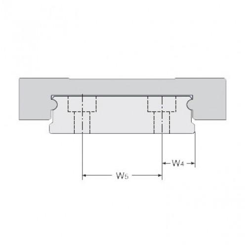 Линейная шариковая каретка <span> LLMHS9TA </span> SKF