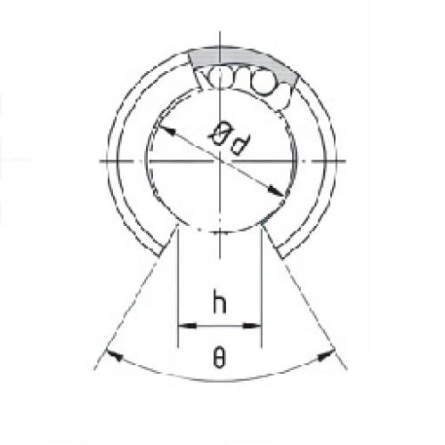 Линейный подшипник BBE12A-OP SNR-NTN