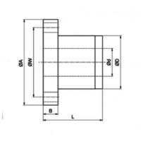 Шариково-винтовая передача BSC01605 SC SNR-NTN