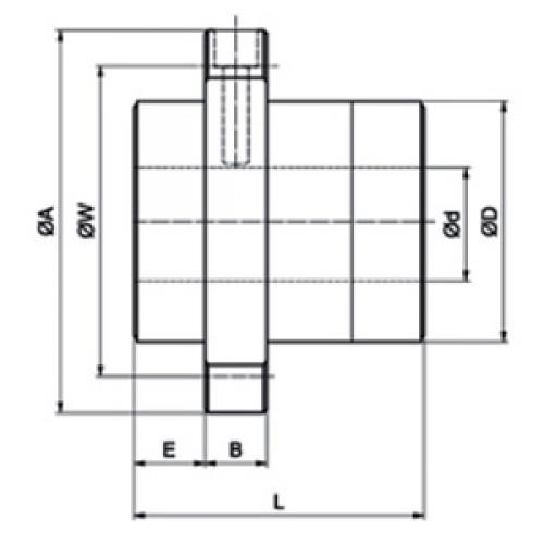 Шариково-винтовая передача BSC01616-6 SE SNR-NTN