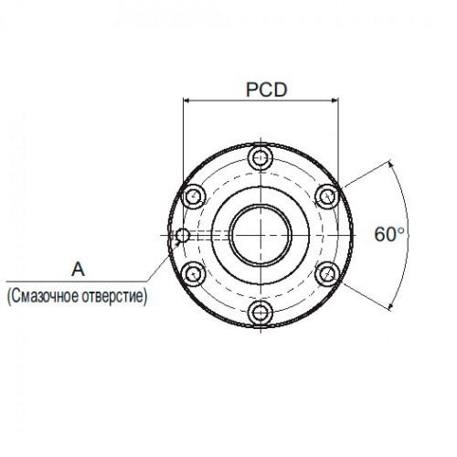 Прецизионная шарико-винтовая передача BIF 1810-3 THK