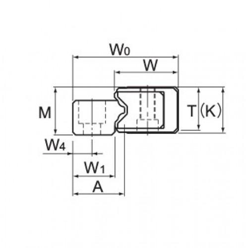 Линейная шариковая направляющая <span> HR2042 </span> THK