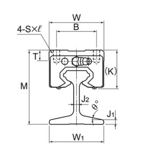 Линейная шариковая направляющая <span> GSR25V-R </span> THK