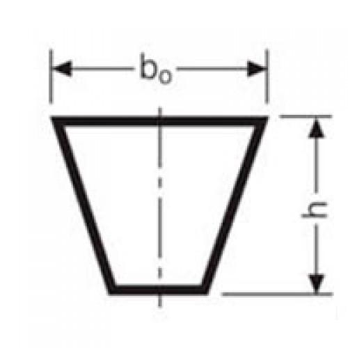 Клиновой ремень 10X1215 Z 48 Z 1238