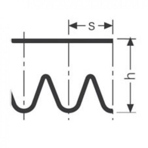 Поликлиновой ремень PJ 1168 / 460 J  ( PJ1168 )