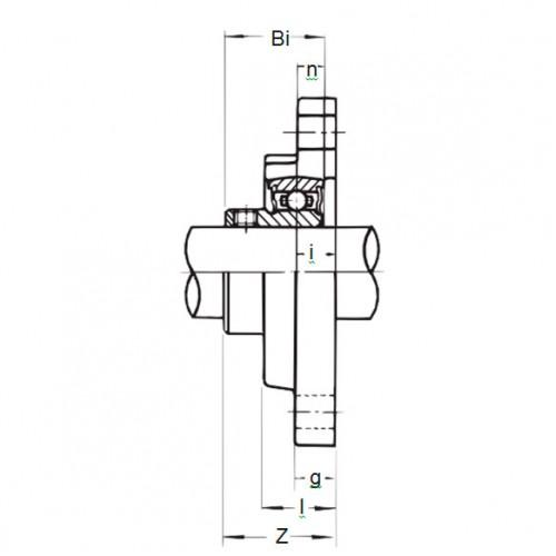 Подшипниковый узел BLFL 6J ASAHI