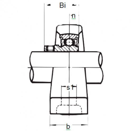 Подшипниковый узел BLLP 7J ASAHI