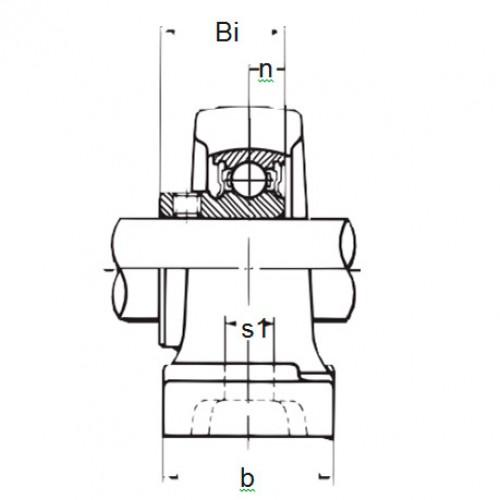 Подшипниковый узел BP 206 ASAHI