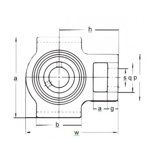Подшипниковый узел BT 205 ASAHI