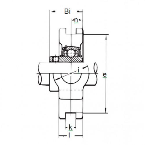 Подшипниковый узел BT 207 ASAHI