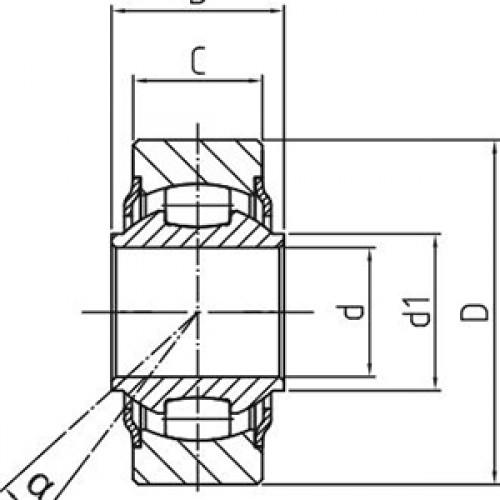 Подшипник скольжения WLT 12-00-500 Durbal