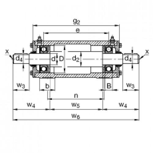 Подшипниковый узел VRE305-A FAG