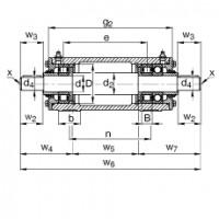 Подшипниковый узел VRE306-E FAG