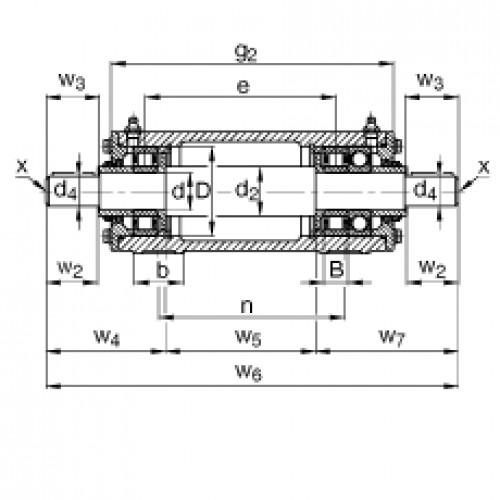 Подшипниковый узел VRE305-E FAG